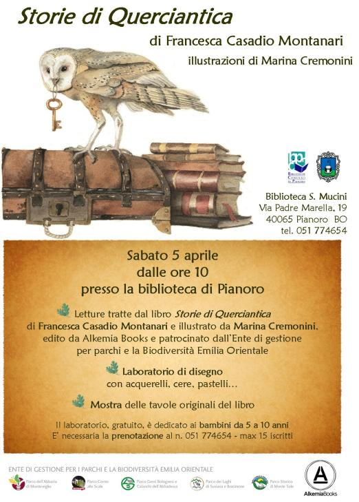 volantino Biblioteca Pianoro